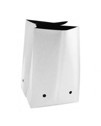 Beyaz Poşet Saksı 11.3 litre