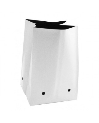 Beyaz Poşet Saksı 3.8 litre