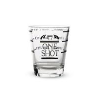 Cam Sıvı Ölçüm Bardağı 45 ml