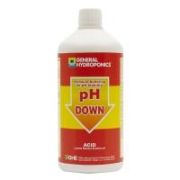 General Hydroponics pH Down 1 litre