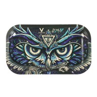 Metal Tepsi Owl