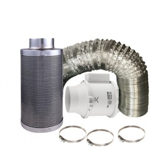 Od-Filter 160 m3 Karbon Filtre Set