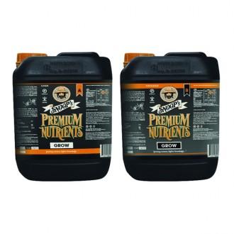 Snoop's Premium Nutrients Hydro Grow A-B 5 litre